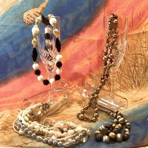 4 Ladies Fun Fashion Necklaces For Less Than One